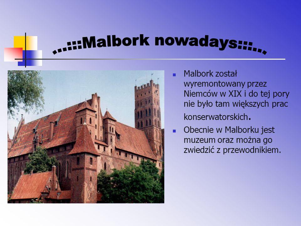 ...:::Malbork nowadays:::...