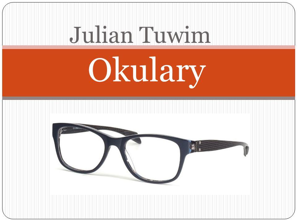 Okulary Julian Tuwim