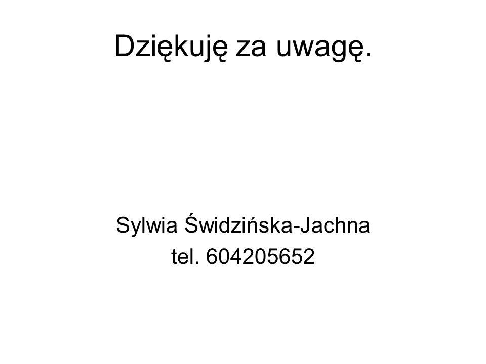 Sylwia Świdzińska-Jachna