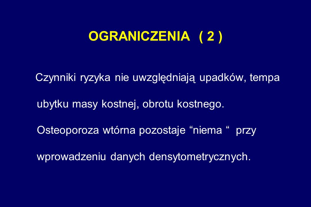 OGRANICZENIA ( 2 )