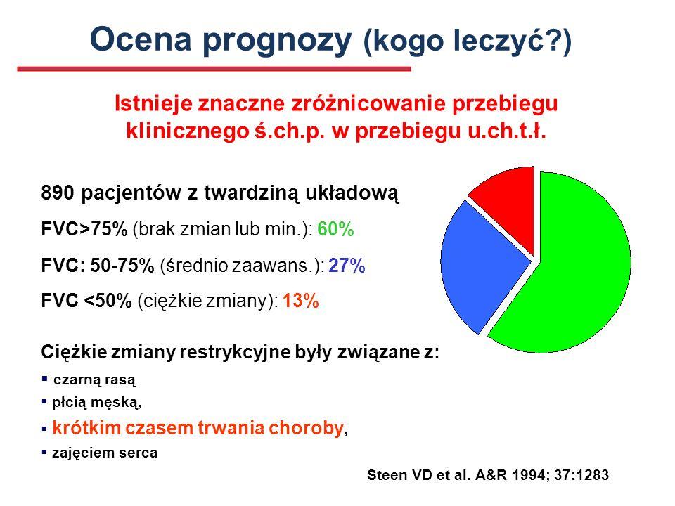 Ocena prognozy (kogo leczyć )