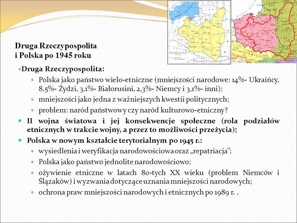 Druga Rzeczypospolita i Polska po 1945 roku