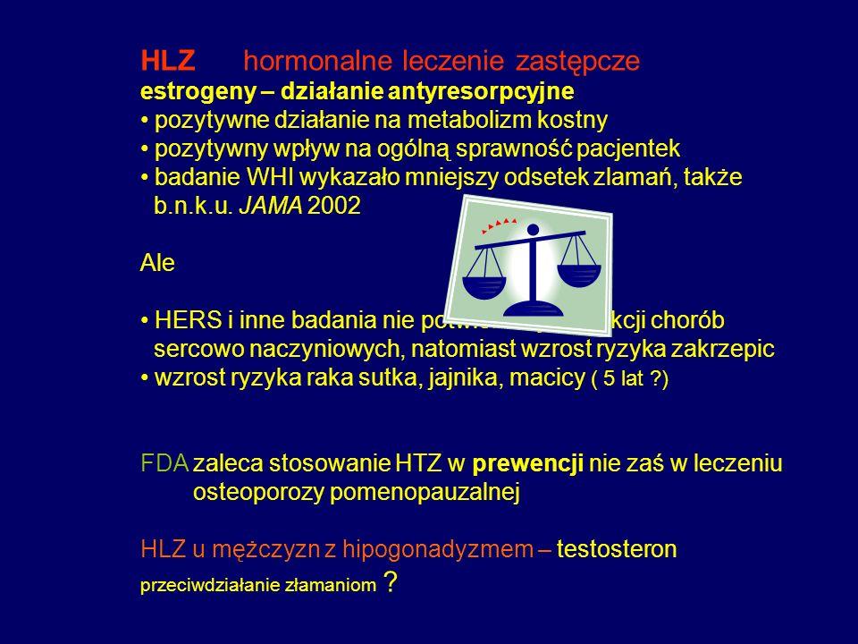 HLZ hormonalne leczenie zastępcze
