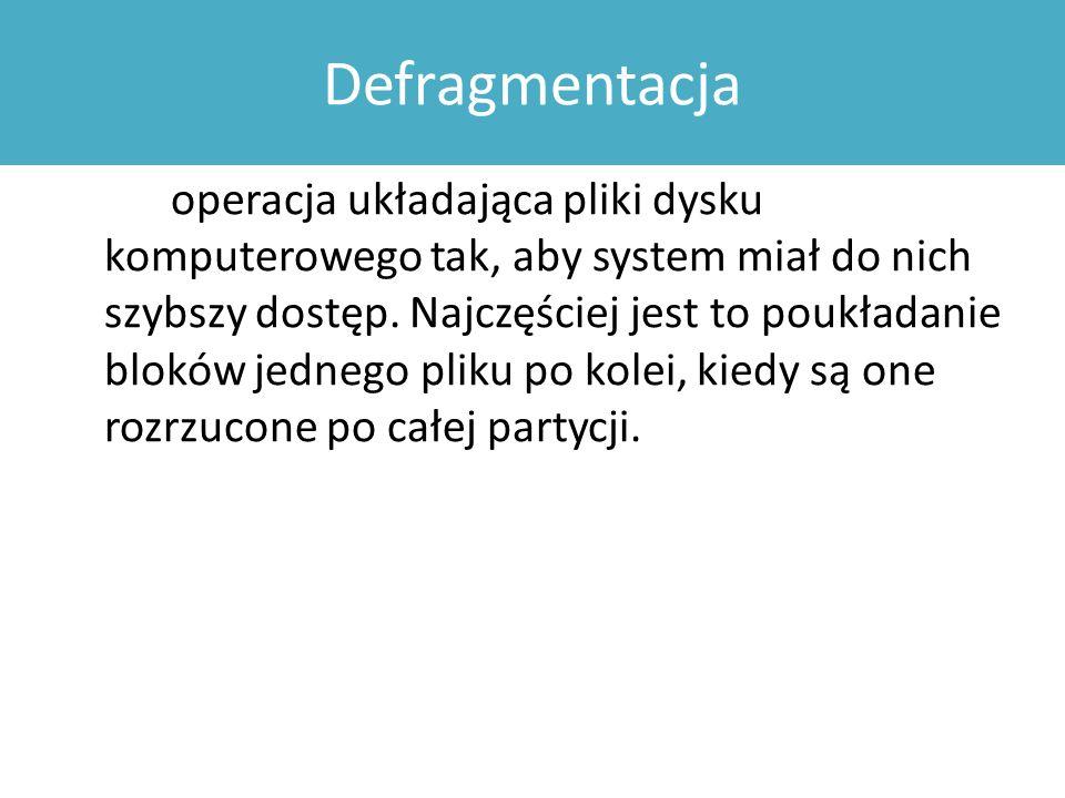 Defragmentacja