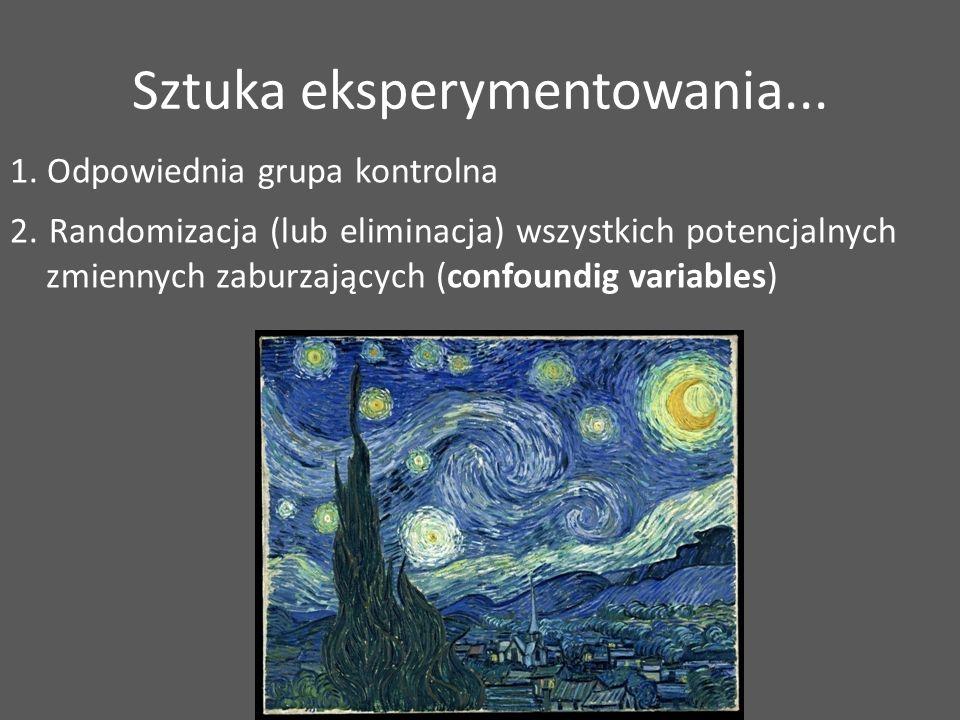 Sztuka eksperymentowania...