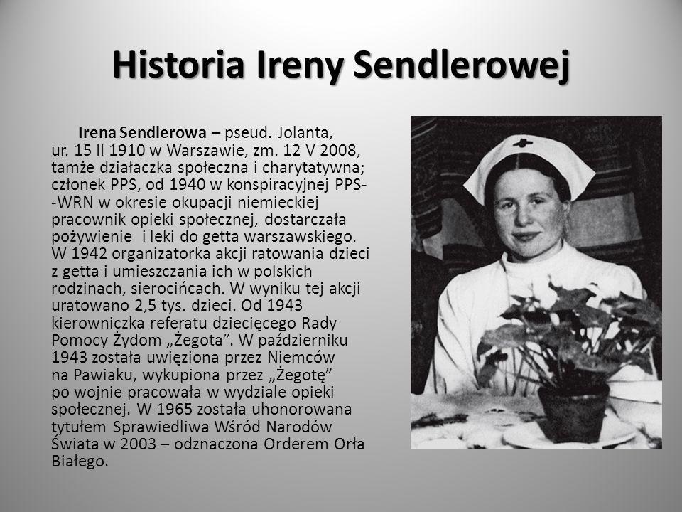 Historia Ireny Sendlerowej