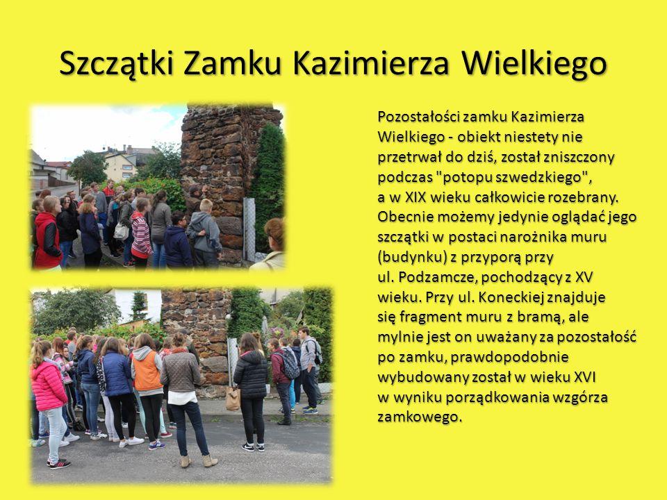 Szczątki Zamku Kazimierza Wielkiego