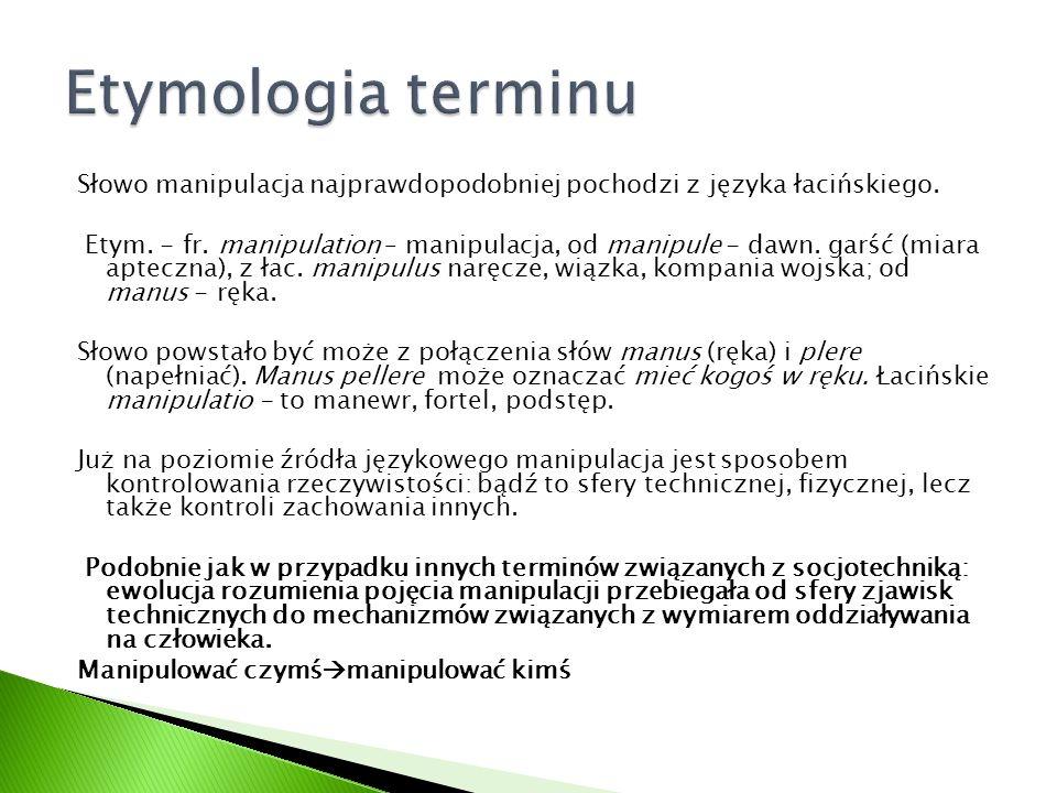Etymologia terminu
