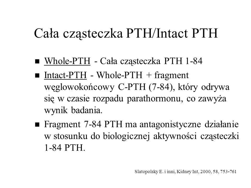 Cała cząsteczka PTH/Intact PTH