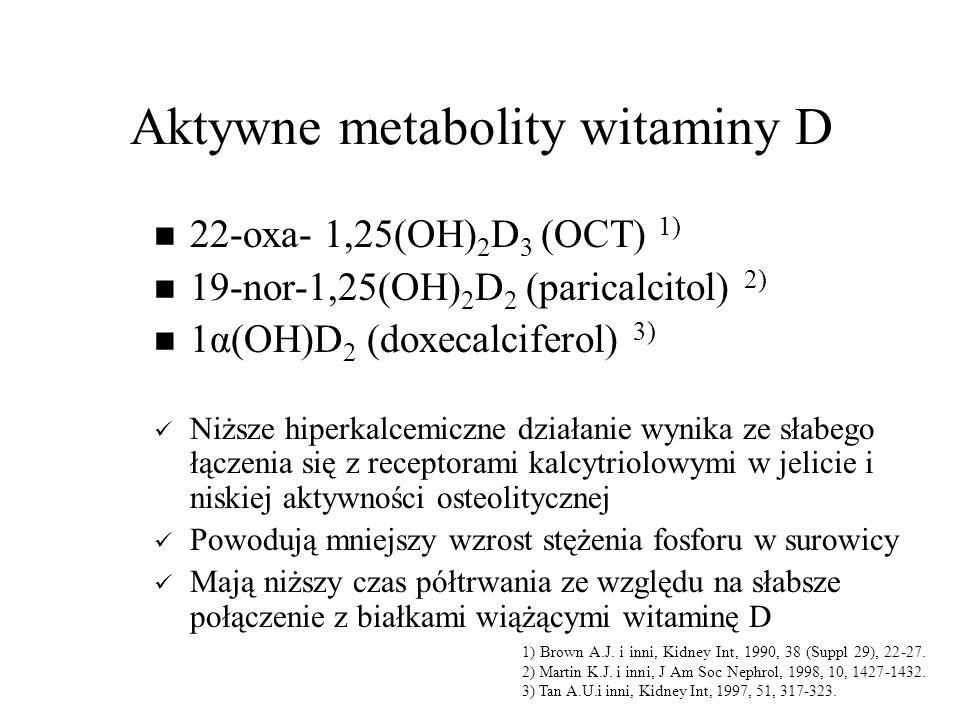Aktywne metabolity witaminy D