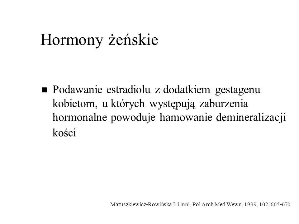 Hormony żeńskie