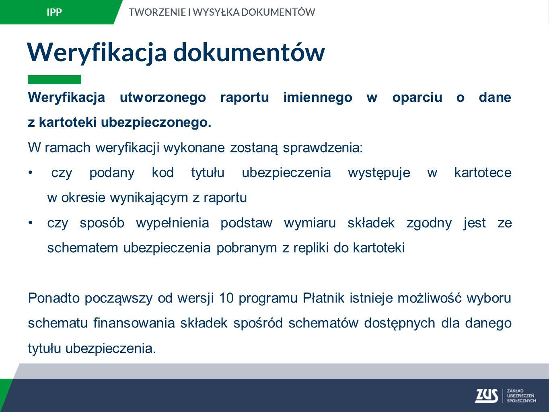 Weryfikacja dokumentów