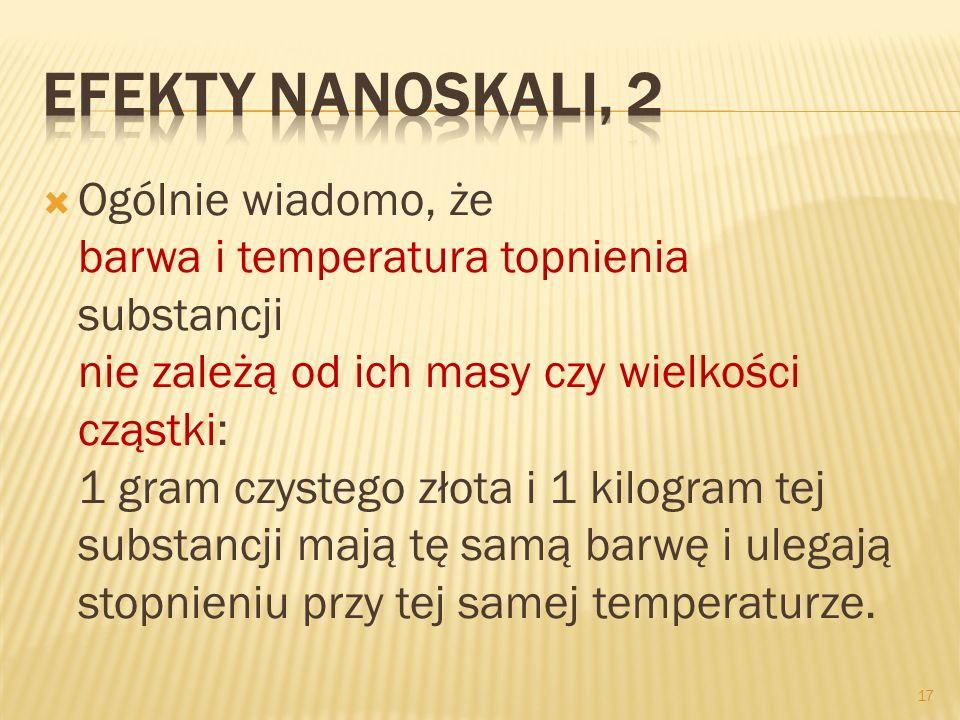 Efekty nanoskali, 2