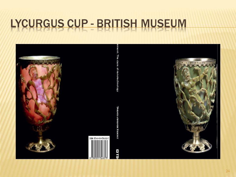 Lycurgus Cup - British Museum