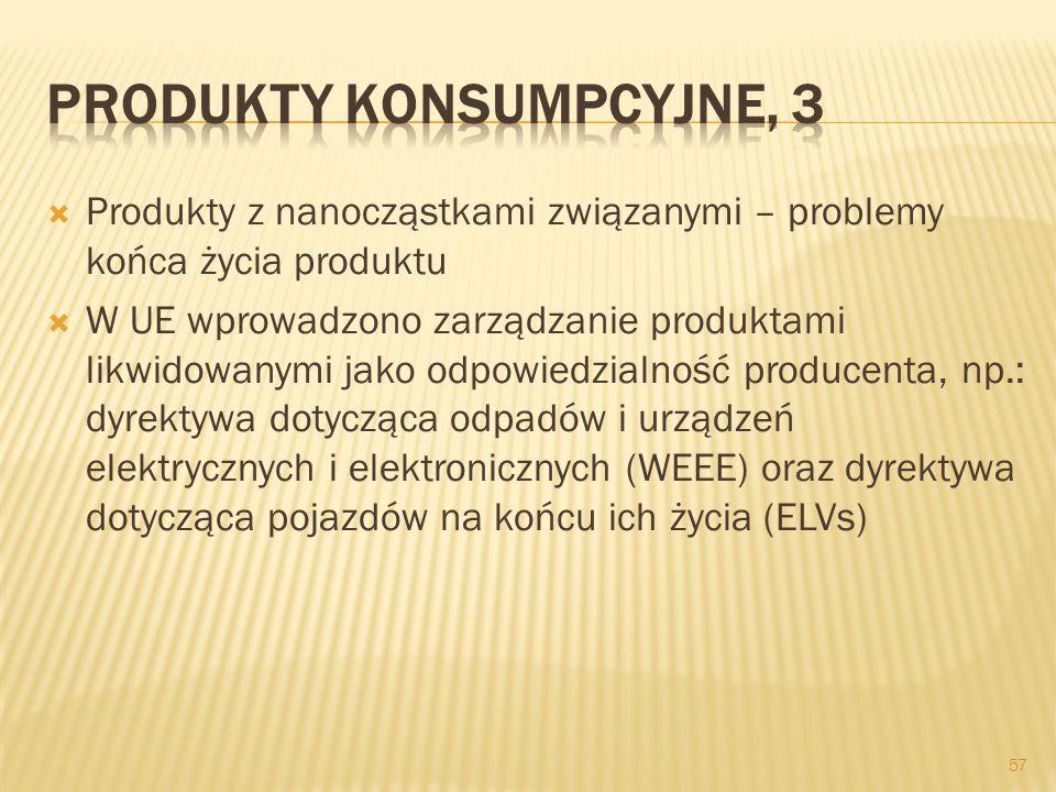 Produkty konsumpcyjne, 3