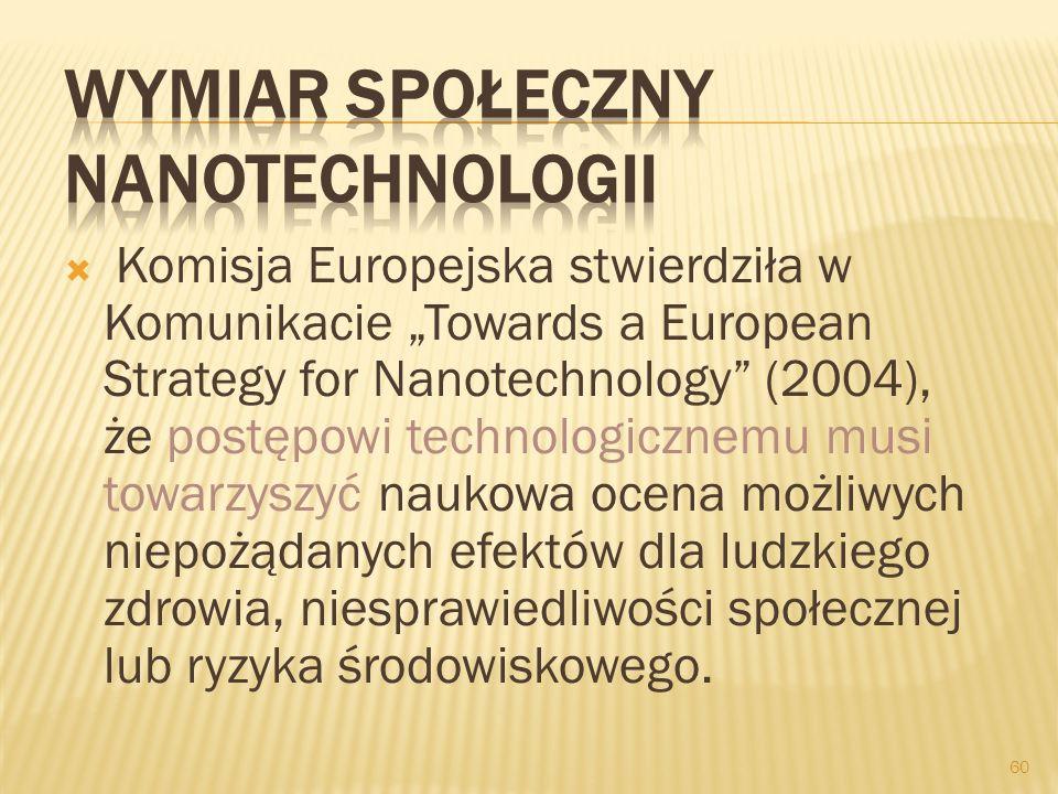 Wymiar społeczny nanotechnologii