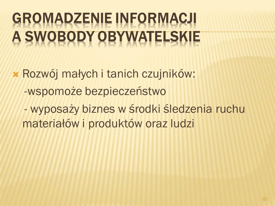 Gromadzenie informacji a swobody obywatelskie