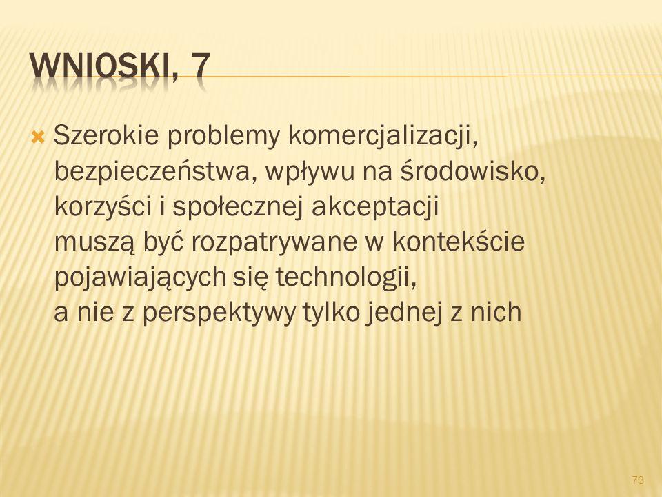 Wnioski, 7