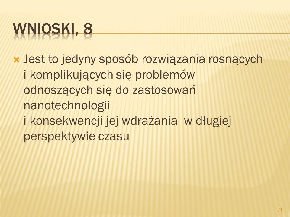 Wnioski, 8