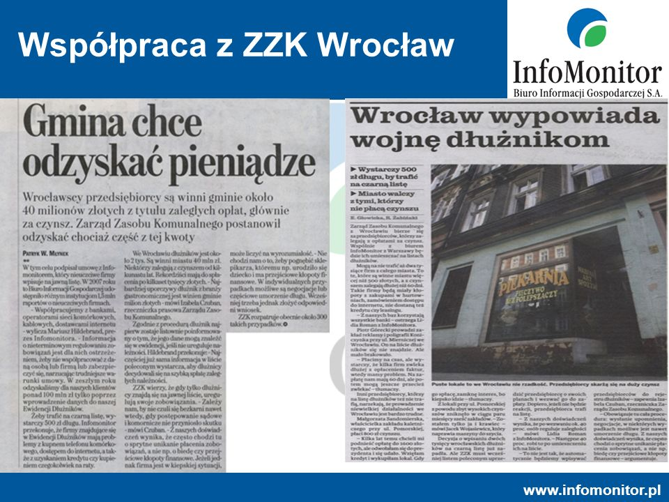 Współpraca z ZZK Wrocław