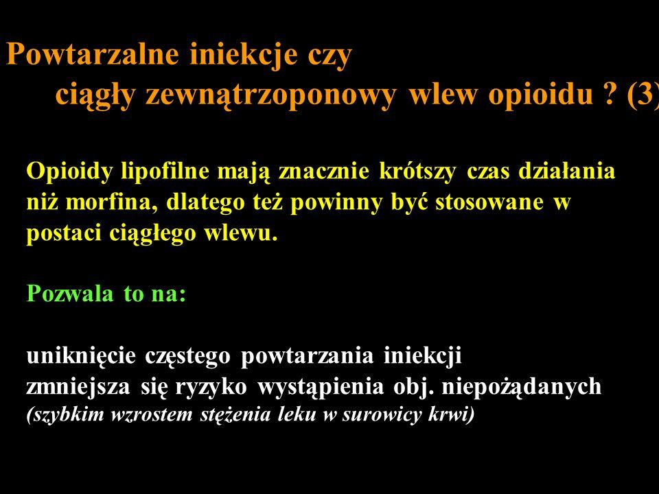 Powtarzalne iniekcje czy ciągły zewnątrzoponowy wlew opioidu (3)