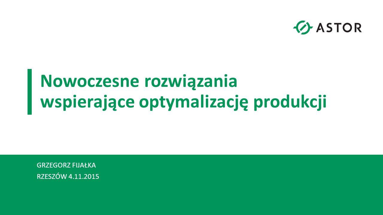 Nowoczesne rozwiązania wspierające optymalizację produkcji