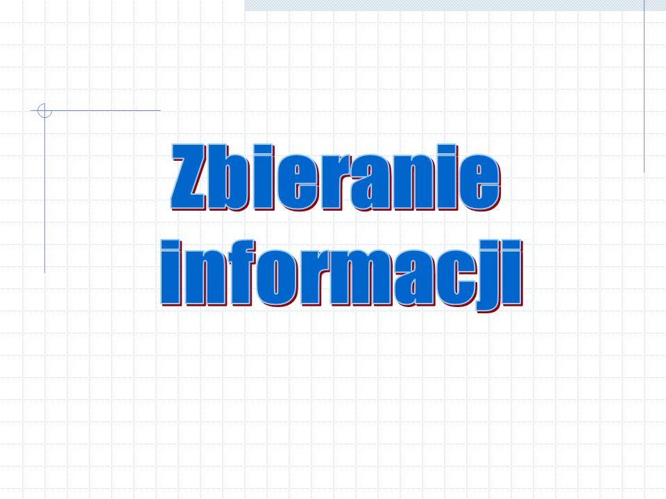 Zbieranie informacji