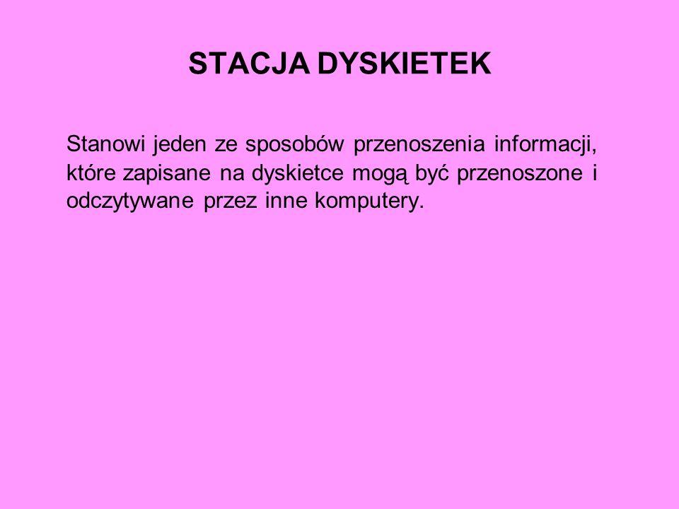 STACJA DYSKIETEK