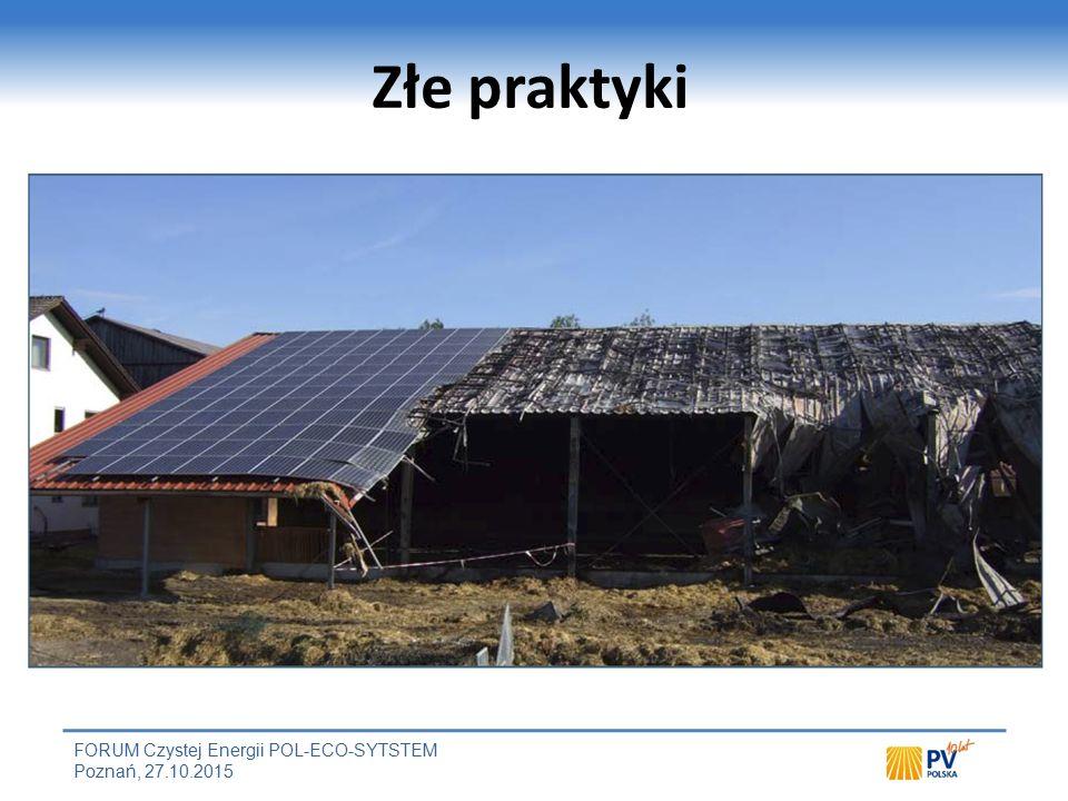 Gaszenie pożaru w obiektach z instalacją PV Przyczyna / miejsce powstania