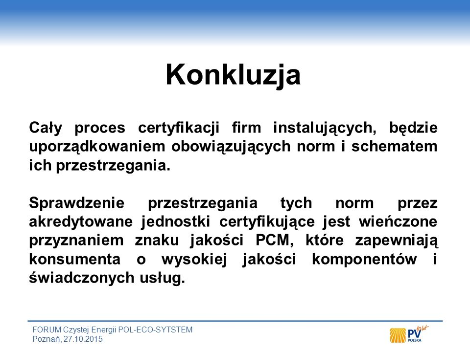 Przykład elementów procedur operacyjnych