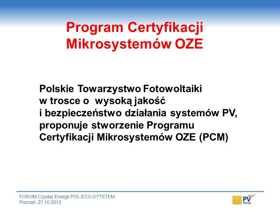 Cele i zadania Programu Certyfikacji Mikrosystemów