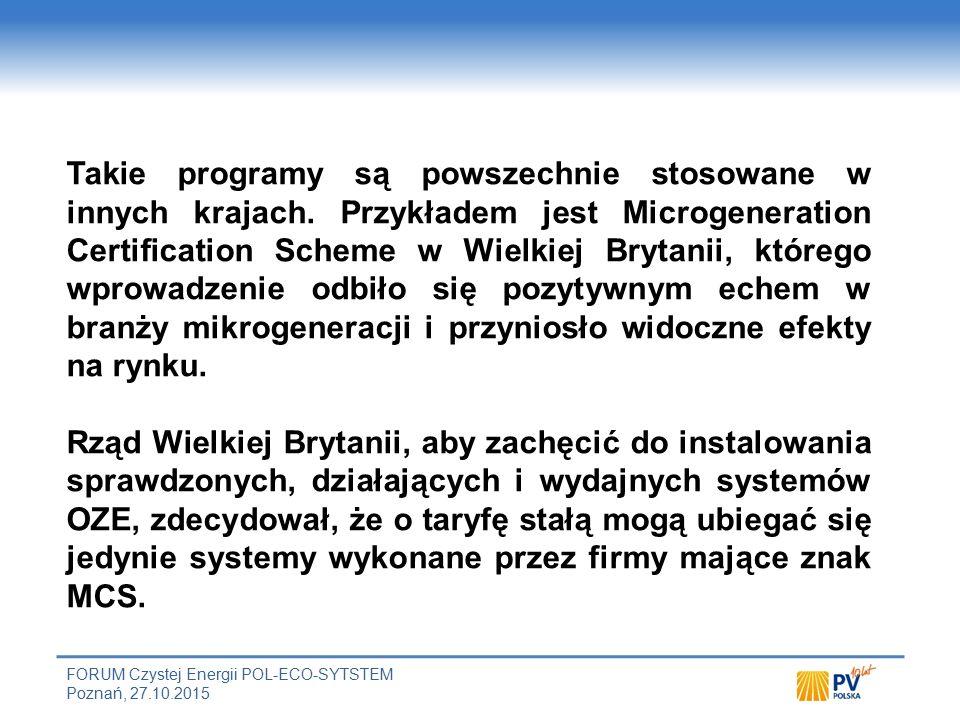 Rekomendacje Aby uniknąć negatywnego postrzegania i w efekcie kompromitacji fotowoltaiki, konieczne jest zapewnienie instalacji systemów PV.