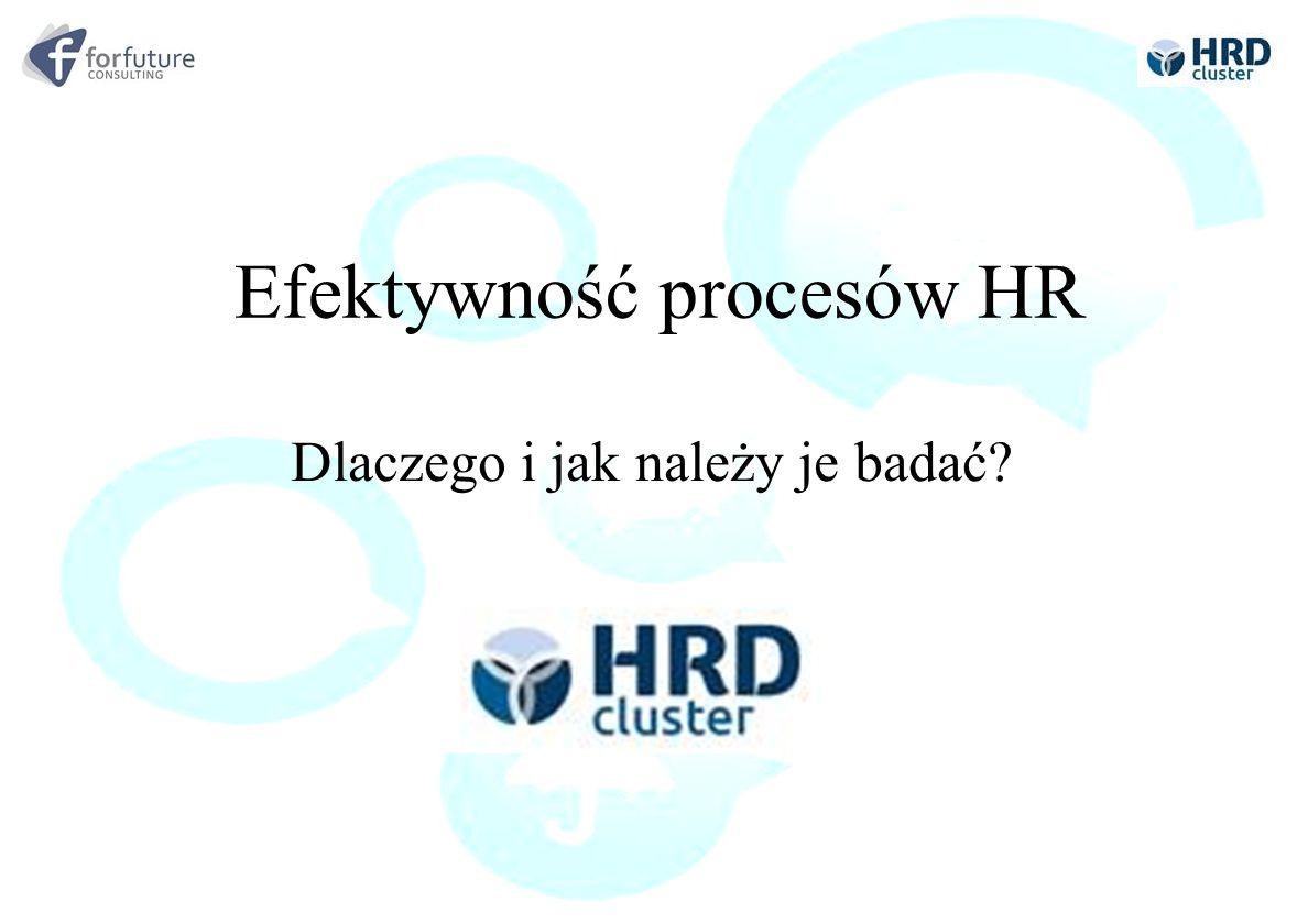 Efektywność procesów HR