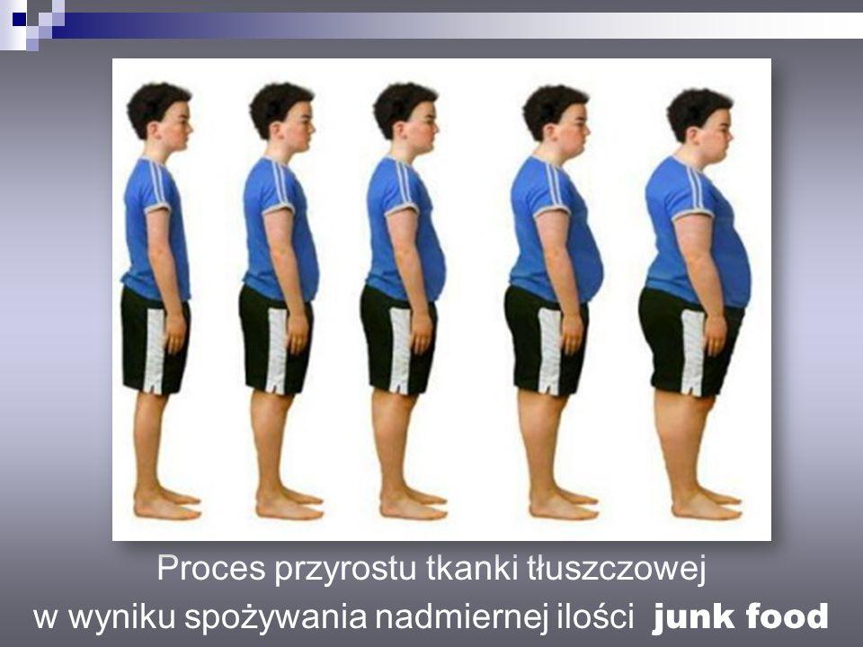 Proces przyrostu tkanki tłuszczowej