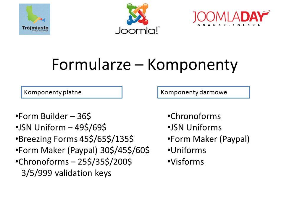 Formularze – Komponenty