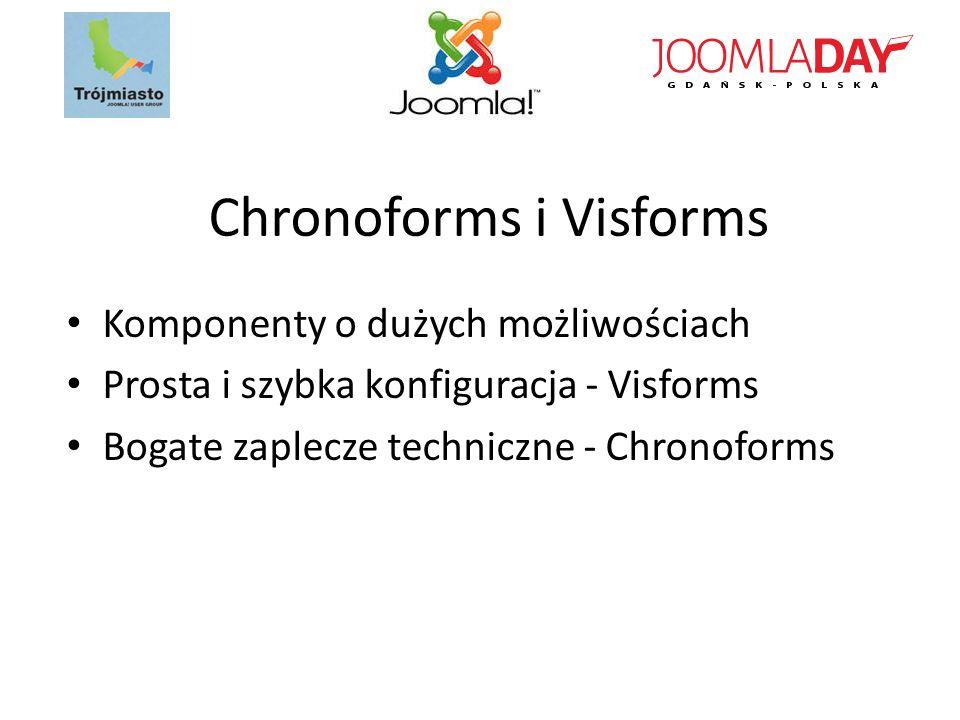 Chronoforms i Visforms