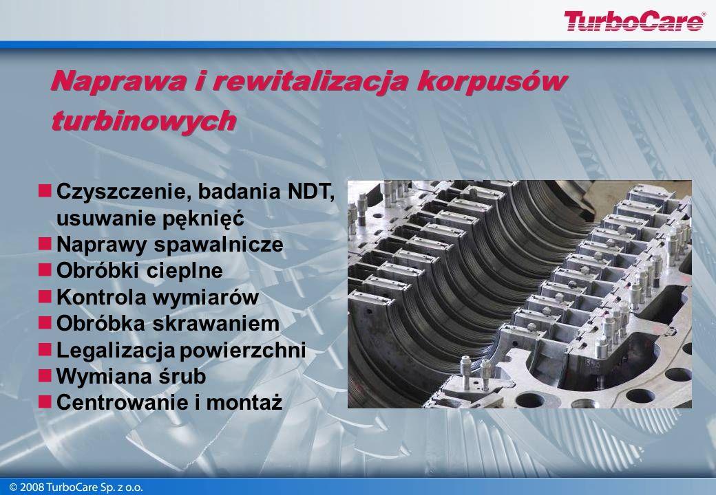 Naprawa i rewitalizacja korpusów turbinowych