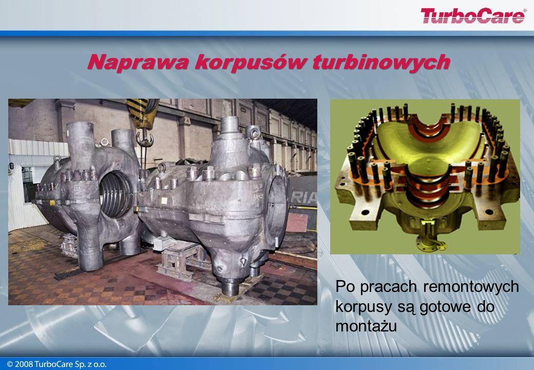 Naprawa korpusów turbinowych