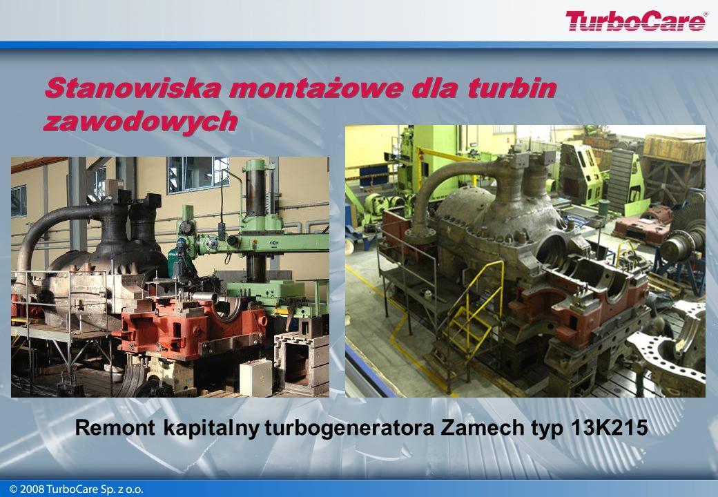 Remont kapitalny turbogeneratora Zamech typ 13K215