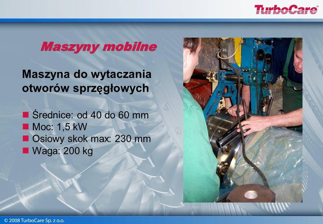 Maszyny mobilne Maszyna do wytaczania otworów sprzęgłowych