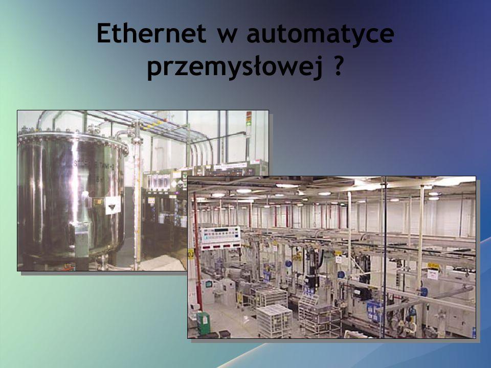 Ethernet w automatyce przemysłowej