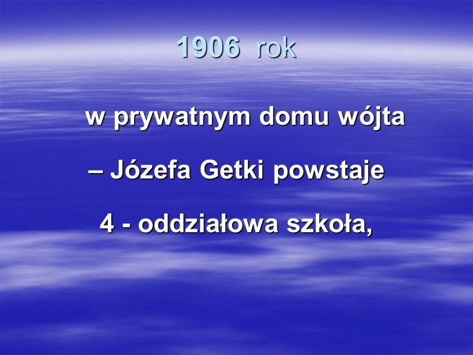 – Józefa Getki powstaje
