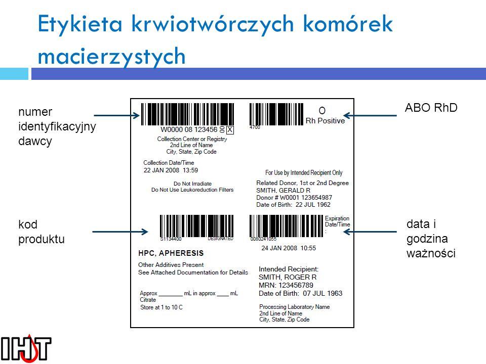 Etykieta krwiotwórczych komórek macierzystych