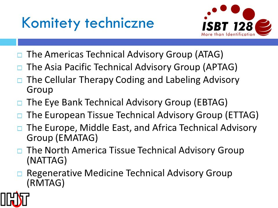 Komitety techniczne The Americas Technical Advisory Group (ATAG)