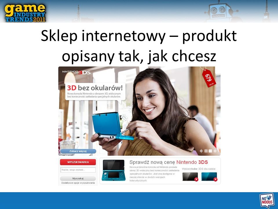 Sklep internetowy – produkt opisany tak, jak chcesz