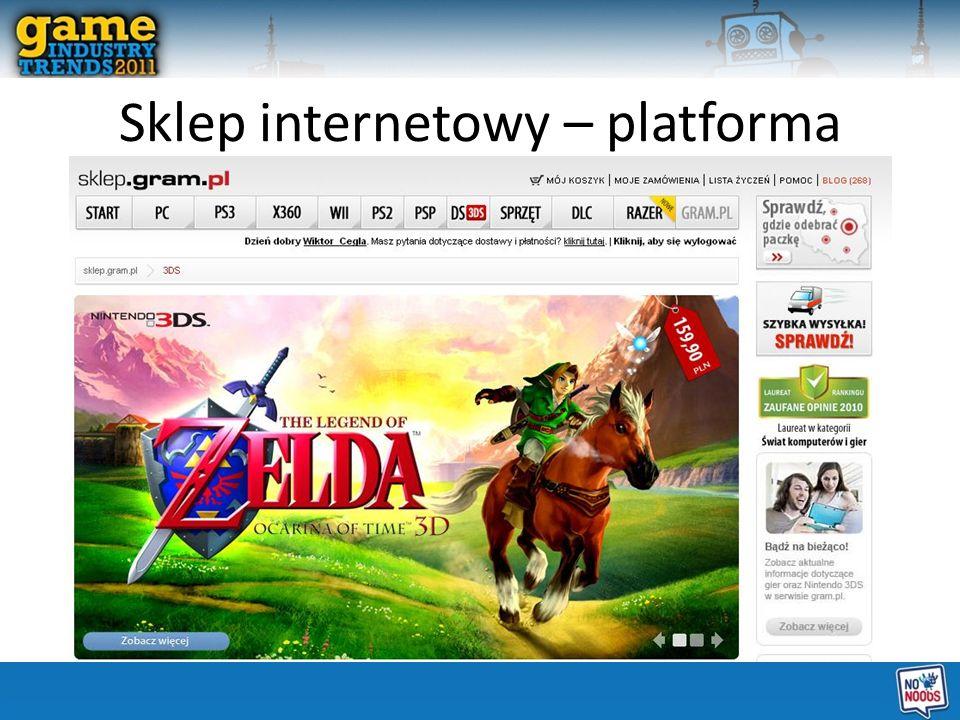Sklep internetowy – platforma