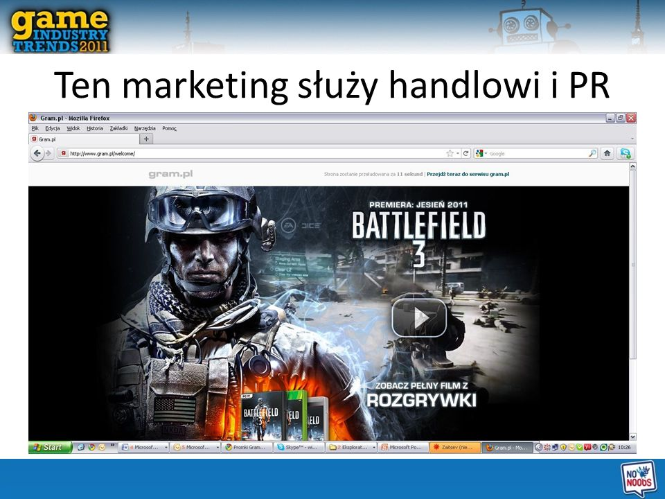 Ten marketing służy handlowi i PR