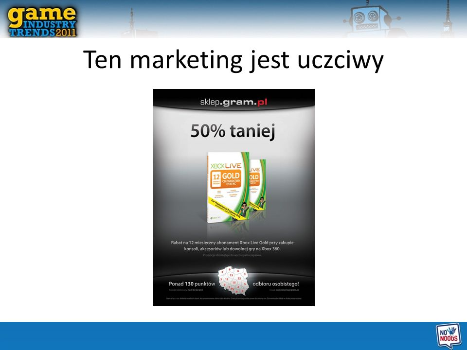 Ten marketing jest uczciwy