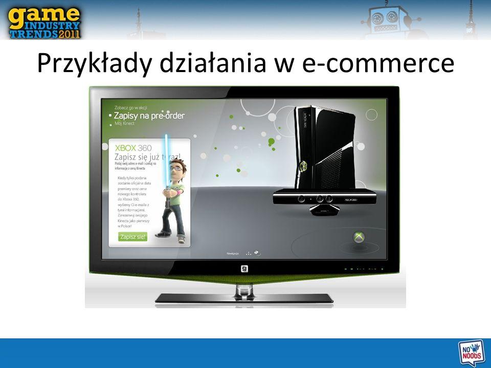 Przykłady działania w e-commerce