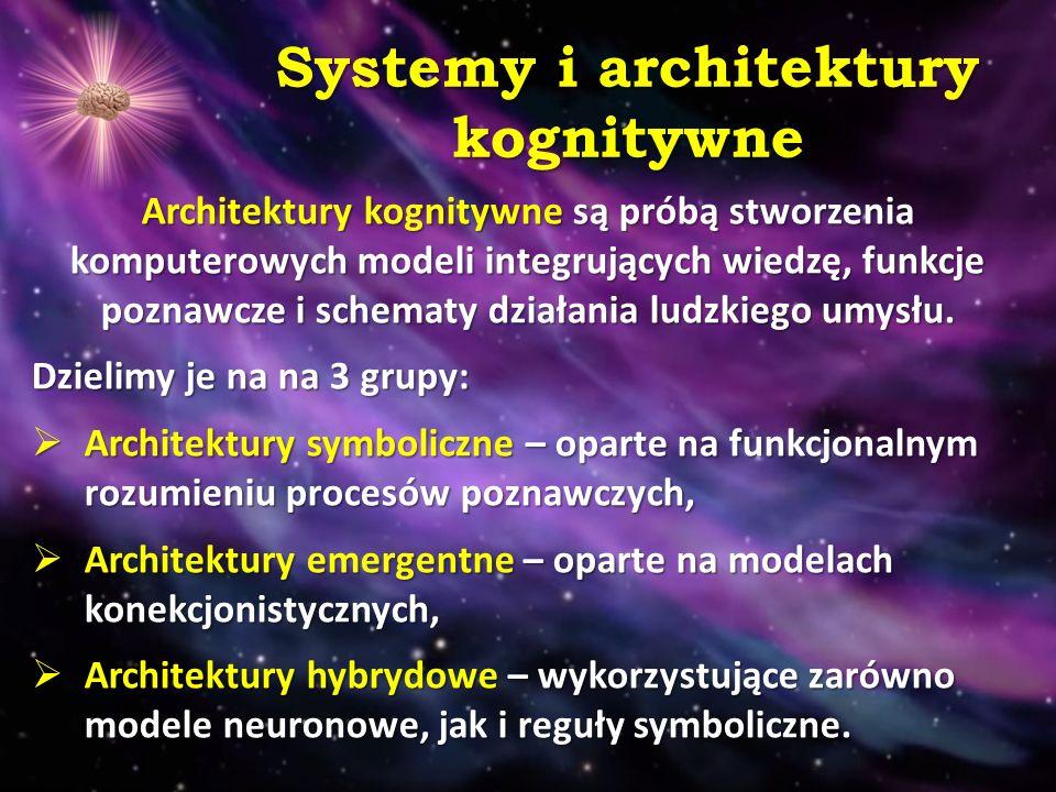 Systemy i architektury kognitywne